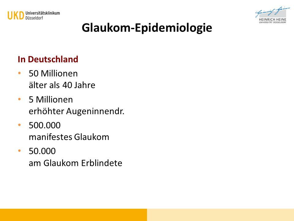 Glaukom-Epidemiologie