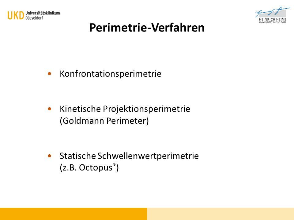 Perimetrie-Verfahren