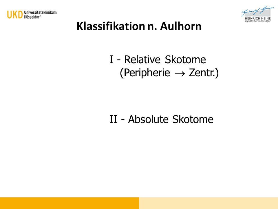 Klassifikation n. Aulhorn