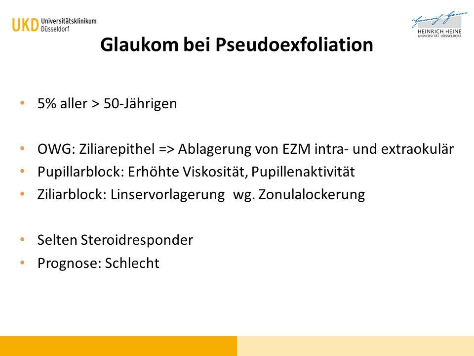 Glaukom bei Pseudoexfoliation