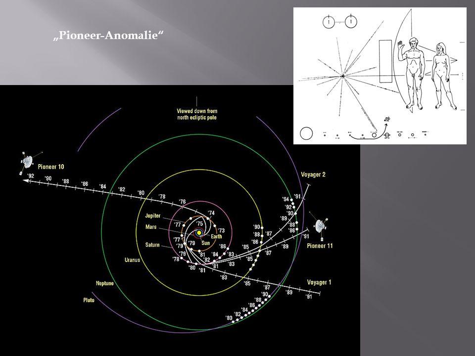 """""""Pioneer-Anomalie"""