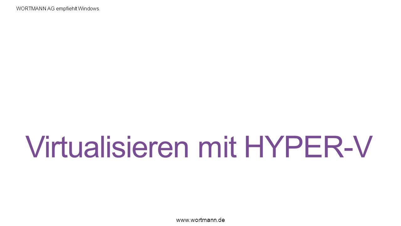 Virtualisieren mit HYPER-V