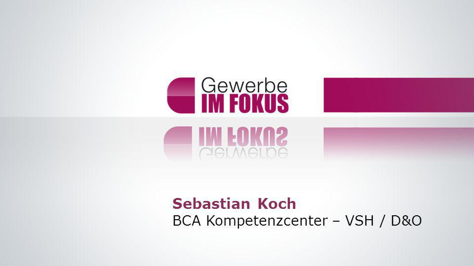 Sebastian Koch BCA Kompetenzcenter – VSH / D&O