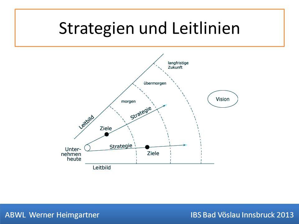 Strategien und Leitlinien