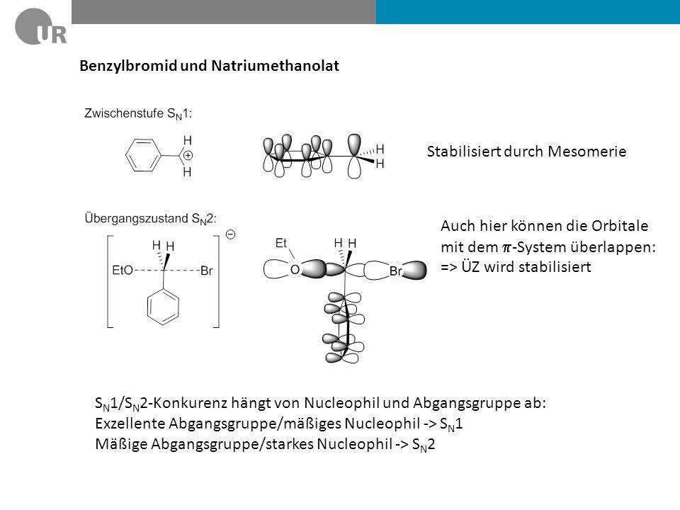 Benzylbromid und Natriumethanolat