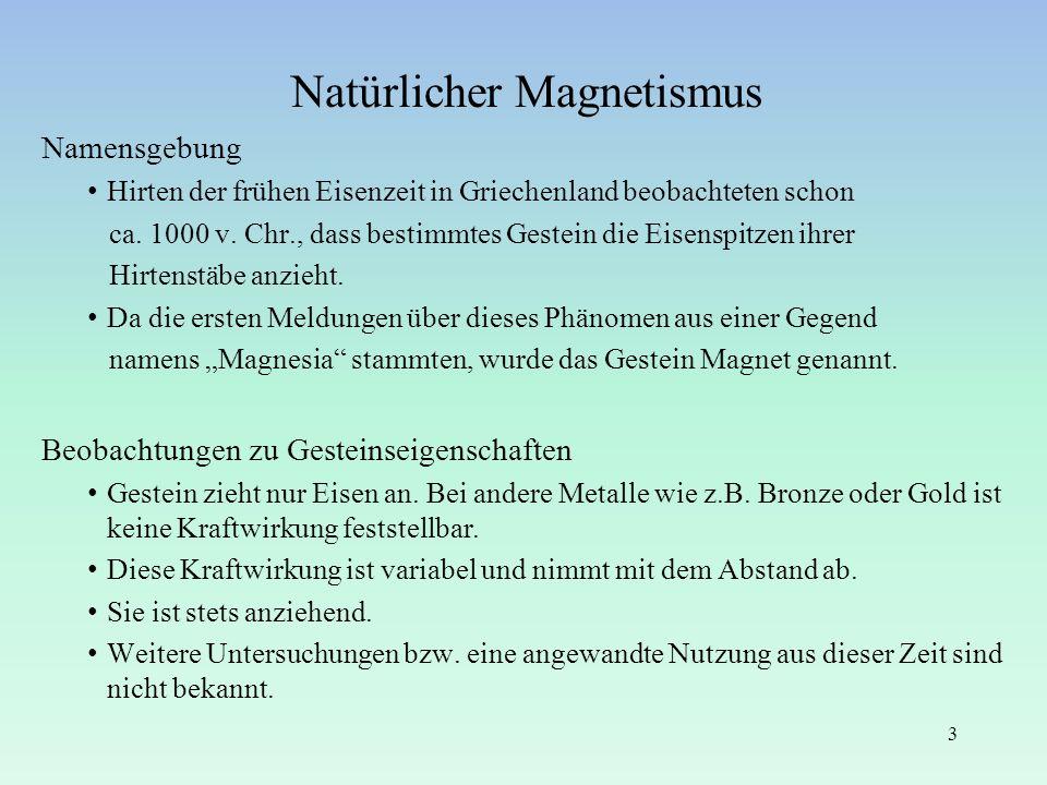 Natürlicher Magnetismus