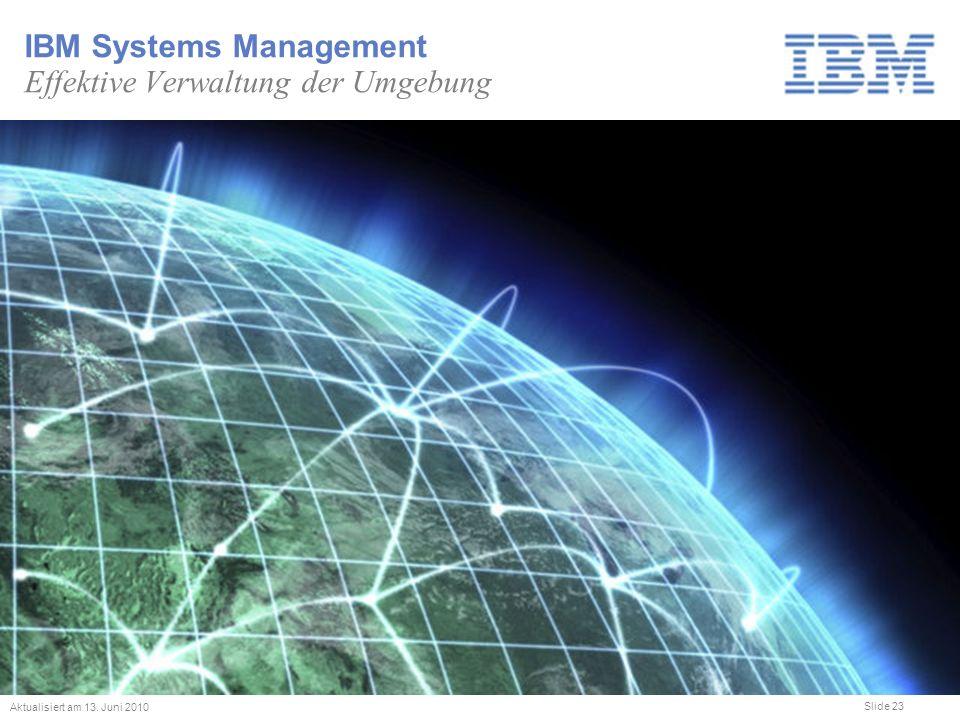 IBM Systems Management Effektive Verwaltung der Umgebung