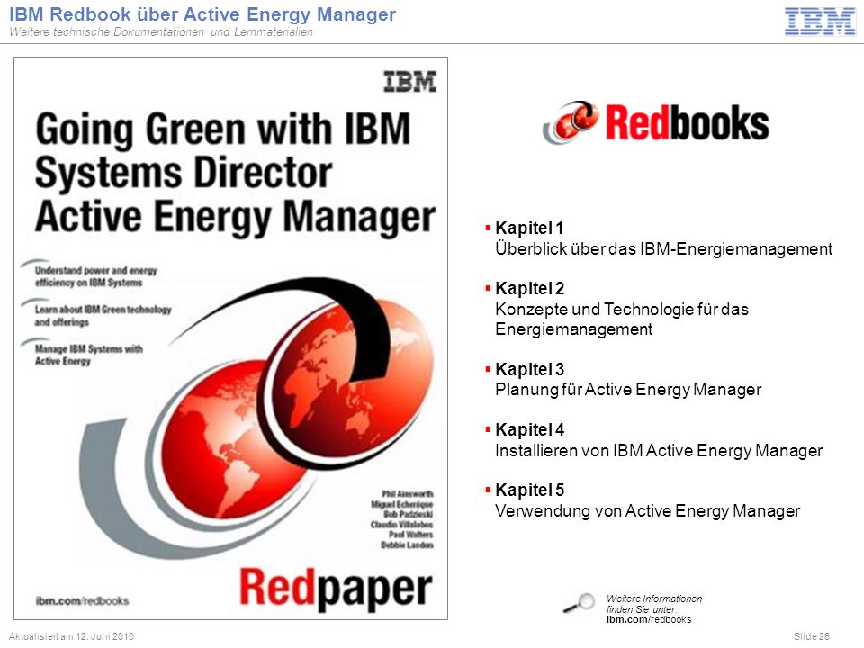 IBM Redbook über Active Energy Manager