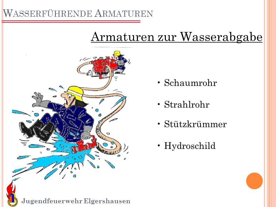 Wasserführende Armaturen