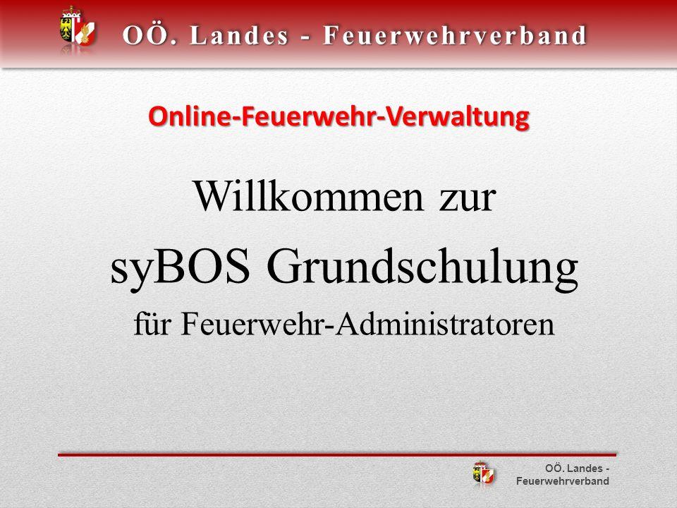 Online-Feuerwehr-Verwaltung