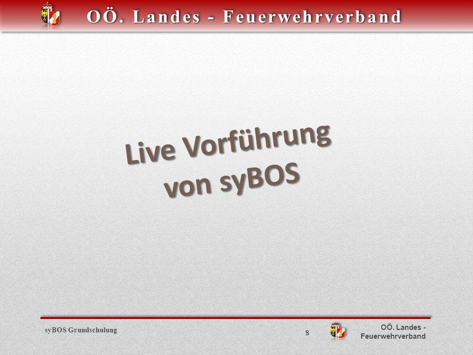 Live Vorführung von syBOS