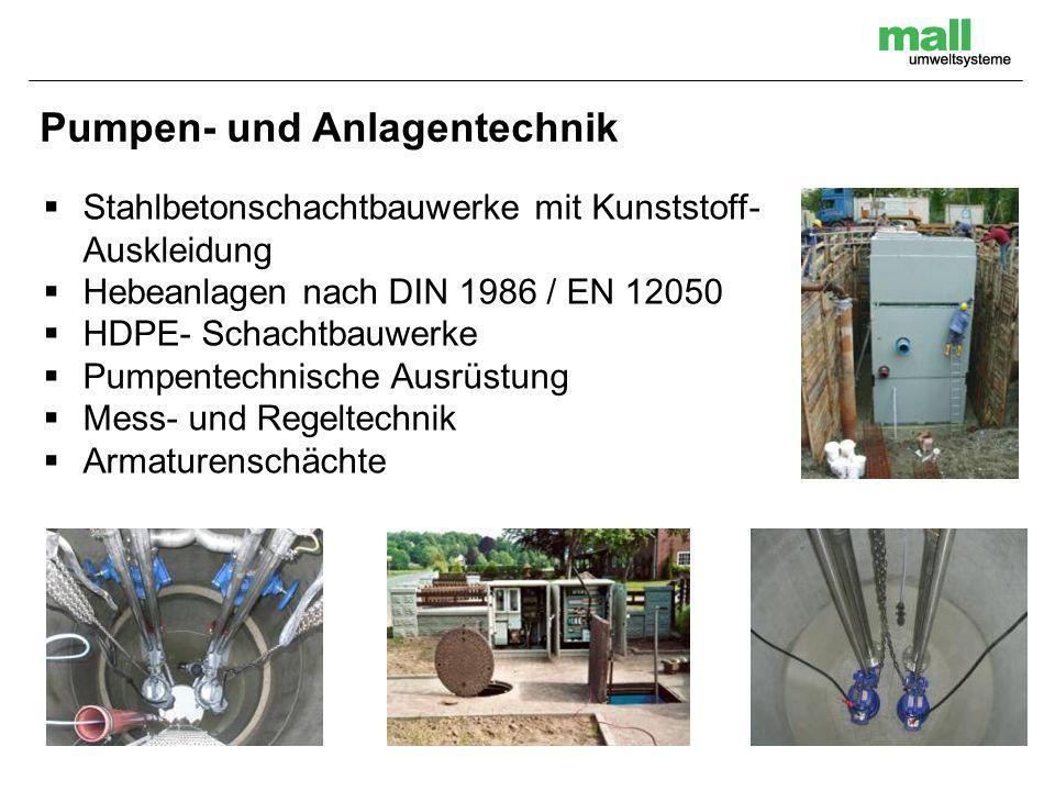 Pumpen- und Anlagentechnik