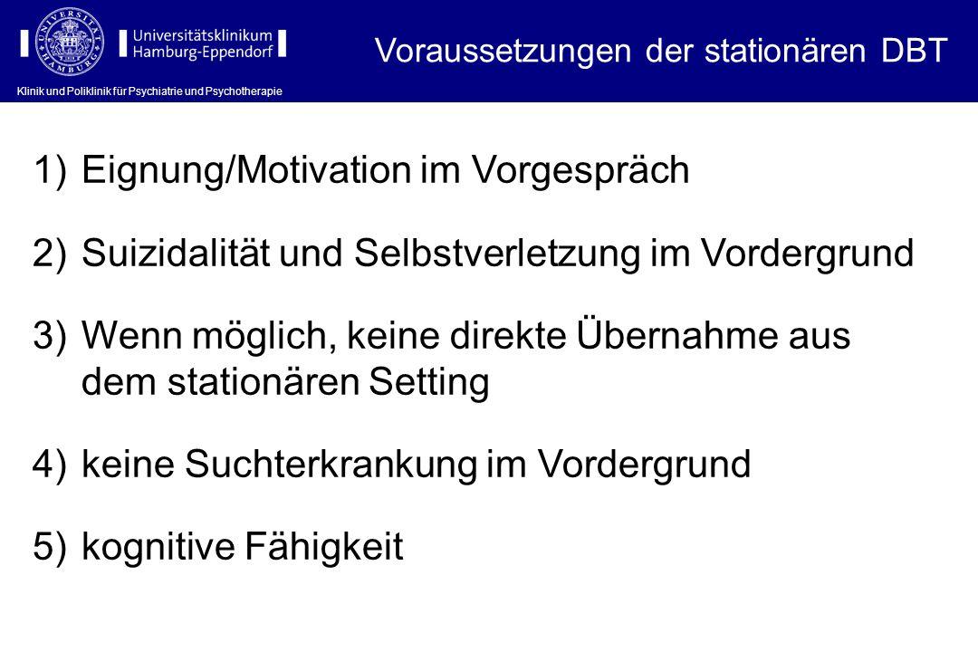 Eignung/Motivation im Vorgespräch