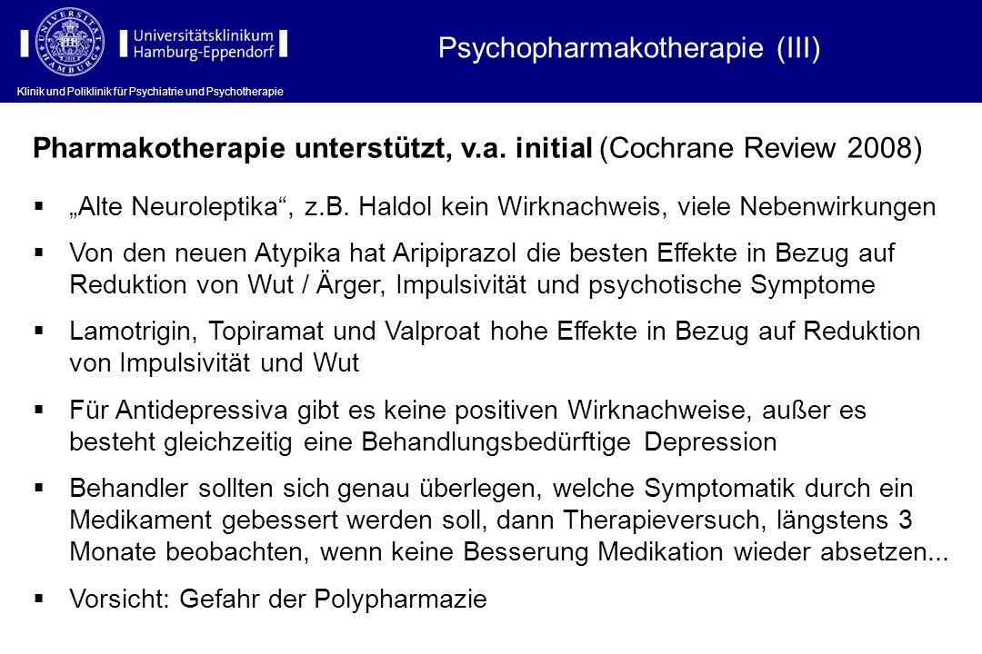 Psychopharmakotherapie (III)