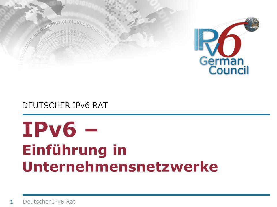 IPv6 – Einführung in Unternehmensnetzwerke