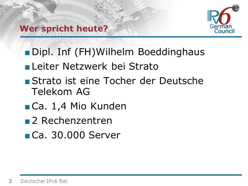 Dipl. Inf (FH)Wilhelm Boeddinghaus Leiter Netzwerk bei Strato