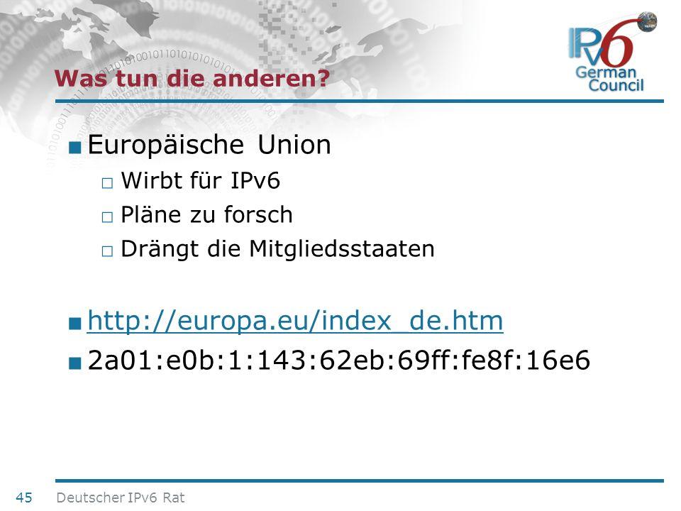 Europäische Union http://europa.eu/index_de.htm