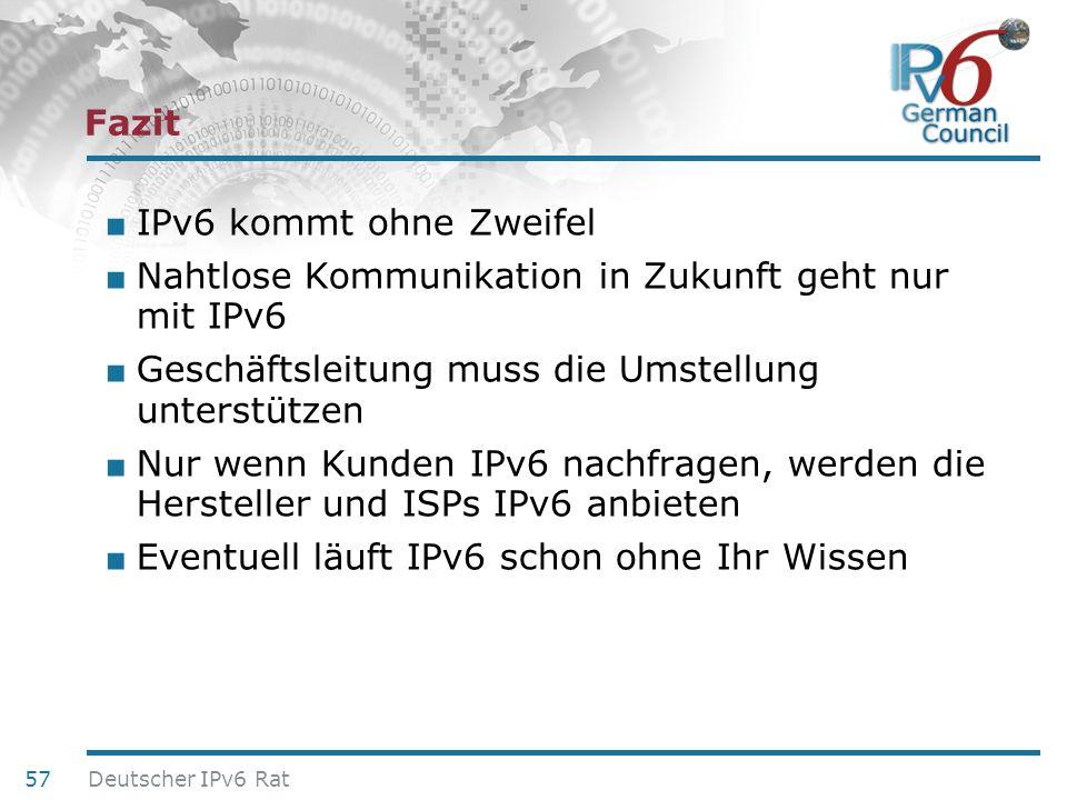Nahtlose Kommunikation in Zukunft geht nur mit IPv6