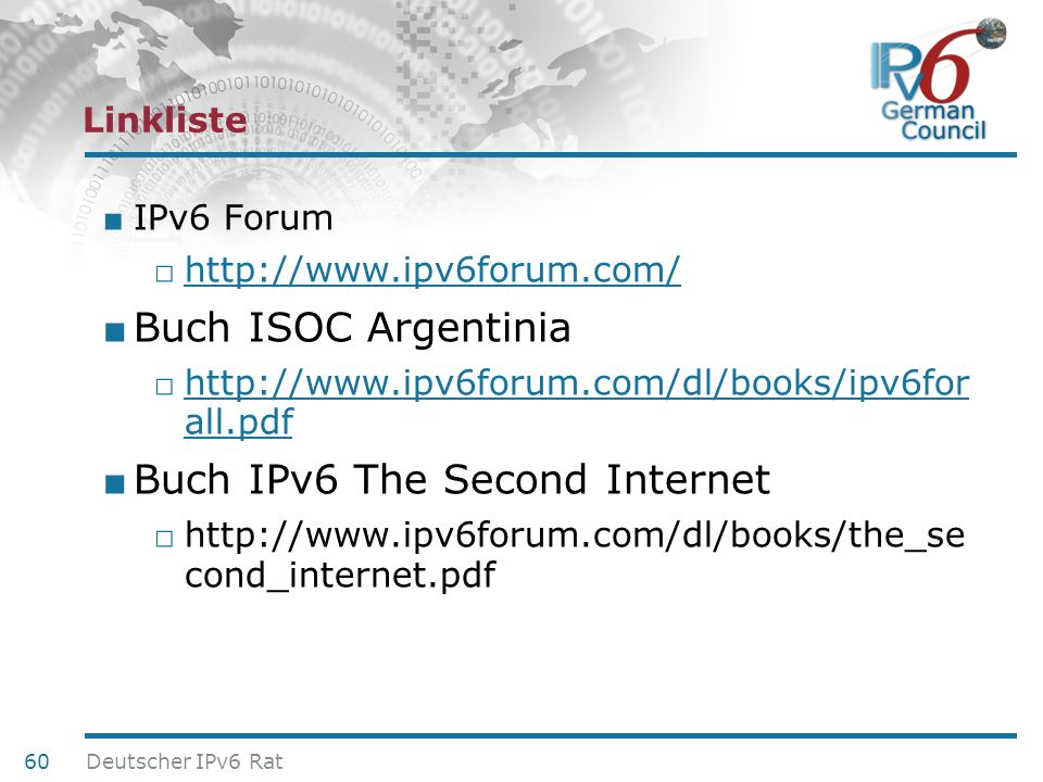 Buch IPv6 The Second Internet