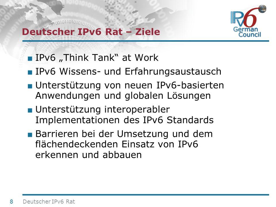 Deutscher IPv6 Rat – Ziele