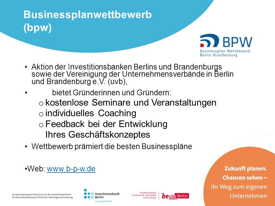 Businessplanwettbewerb (bpw)