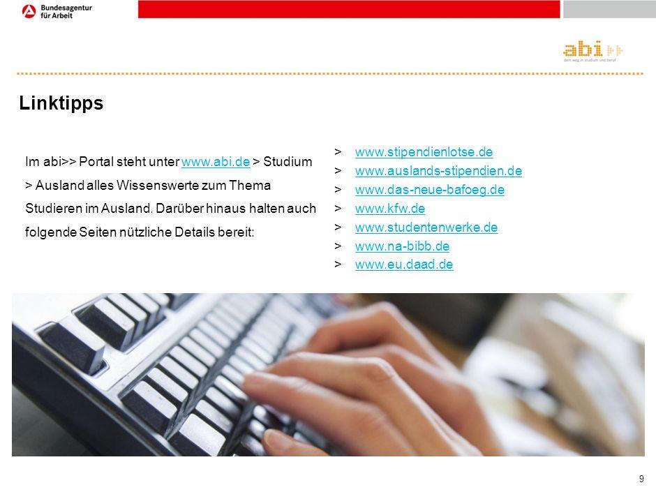 Linktipps www.stipendienlotse.de