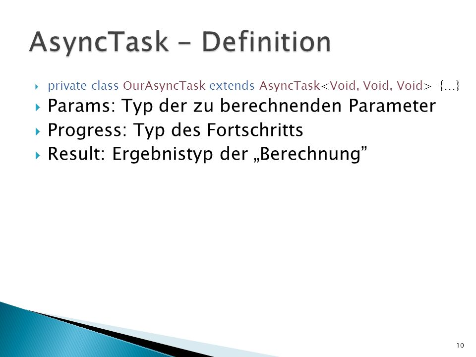 AsyncTask - Definition