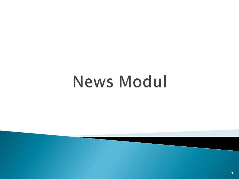 News Modul