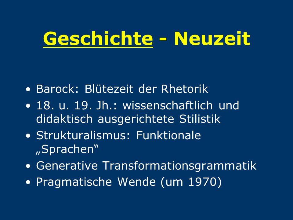 Geschichte - Neuzeit Barock: Blütezeit der Rhetorik