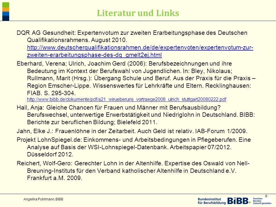 Literatur und Links