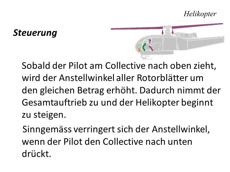 Helikopter Steuerung.