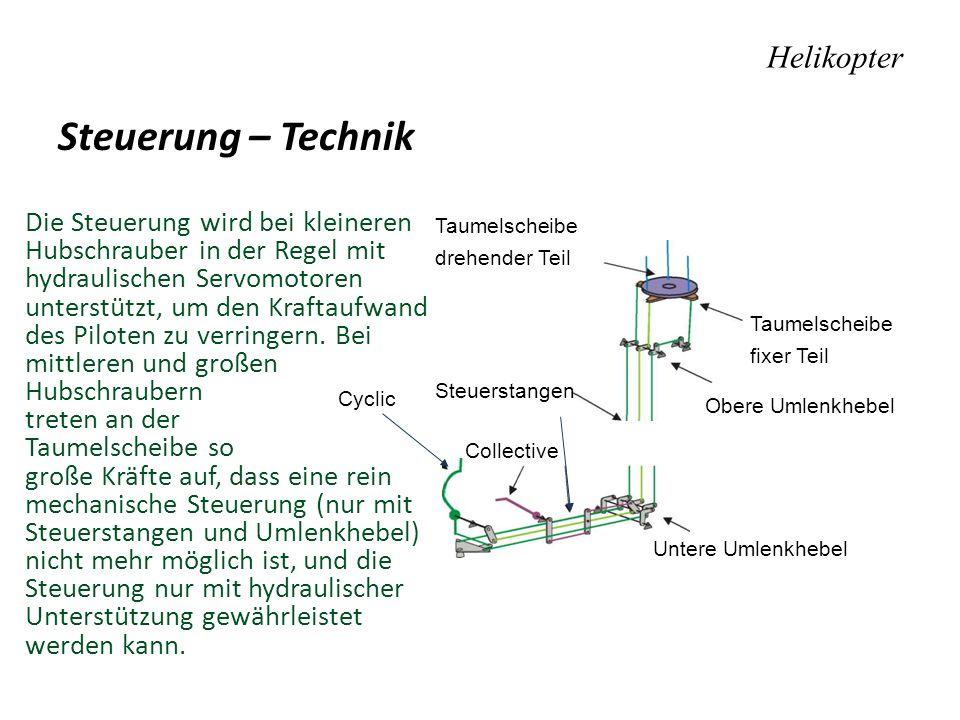 Steuerung – Technik Helikopter