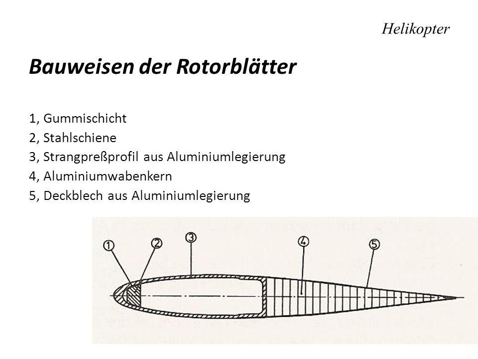 Bauweisen der Rotorblätter
