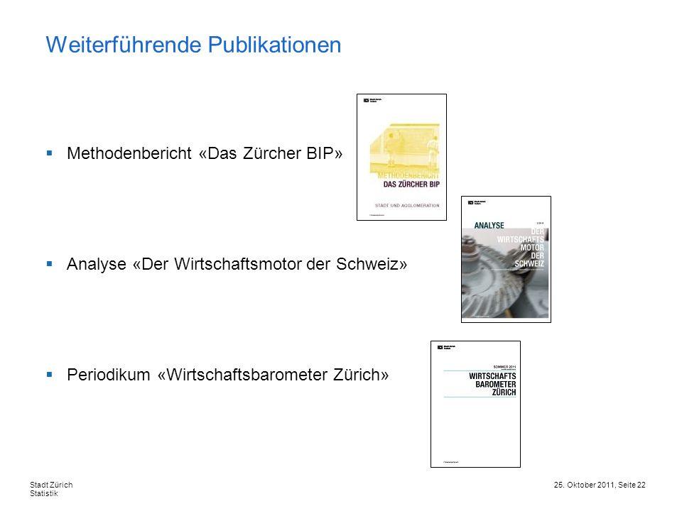 Weiterführende Publikationen