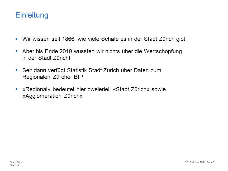 Einleitung Wir wissen seit 1866, wie viele Schafe es in der Stadt Zürich gibt.