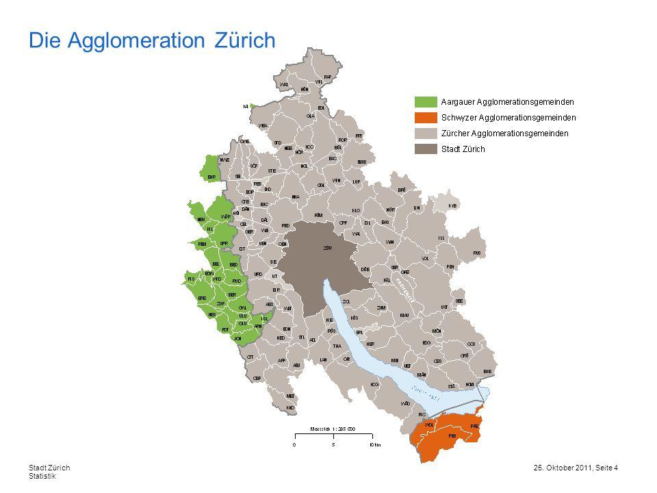 Die Agglomeration Zürich