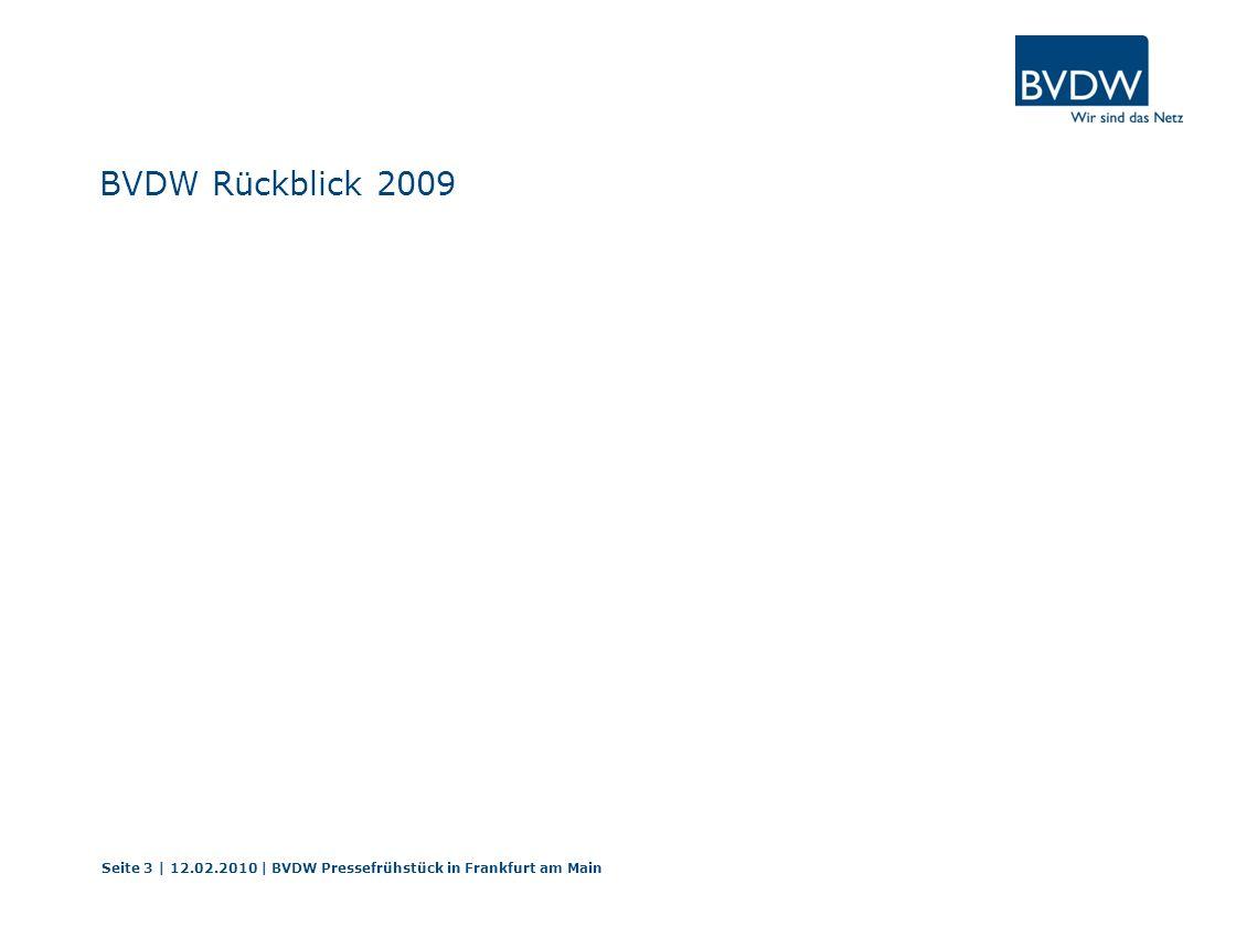 BVDW Rückblick 2009 Arndt Groth