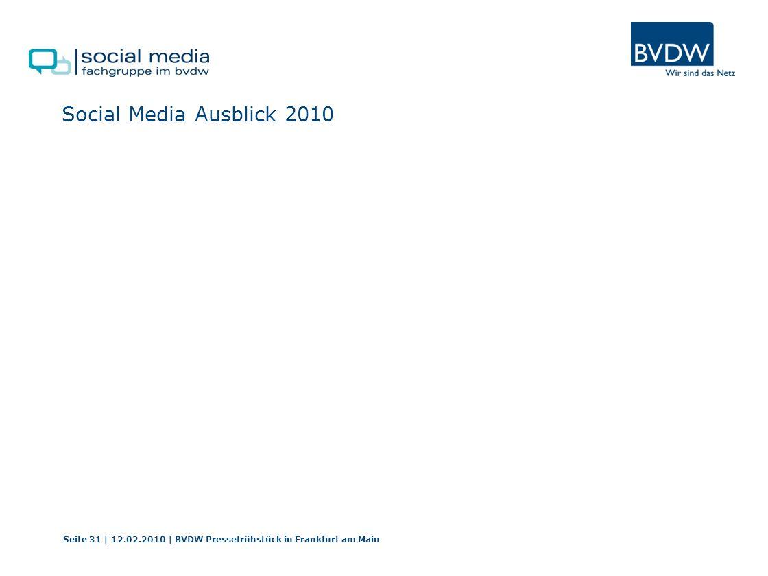 Social Media Ausblick 2010 Burkhard Leimbrock