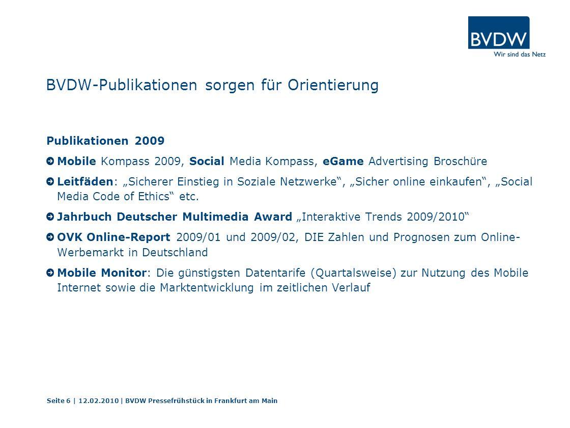 BVDW-Publikationen sorgen für Orientierung