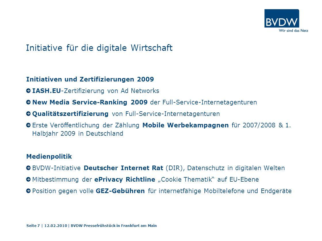Initiative für die digitale Wirtschaft