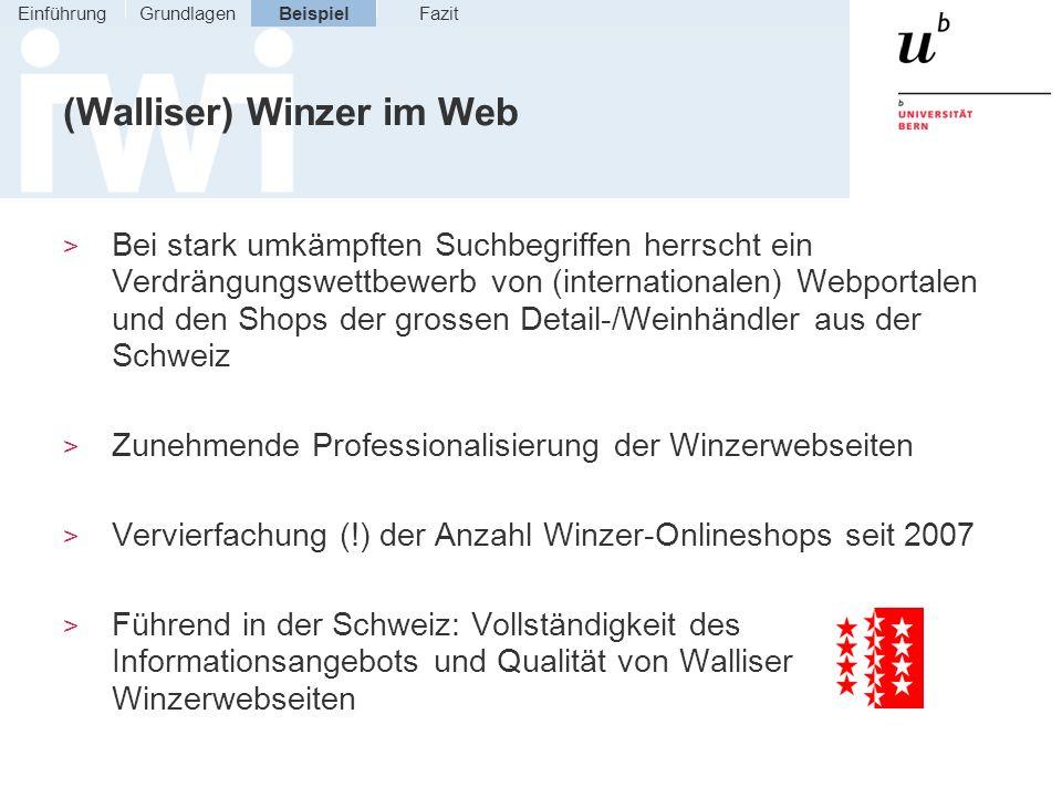 (Walliser) Winzer im Web