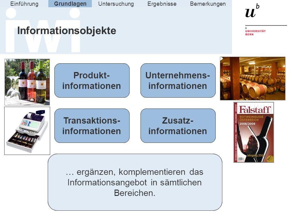 Unternehmens-informationen Produkt-informationen