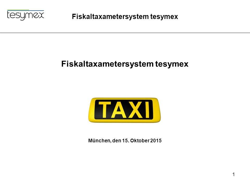Fiskaltaxametersystem tesymex
