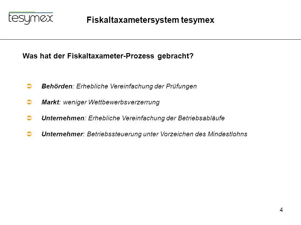 Was hat der Fiskaltaxameter-Prozess gebracht