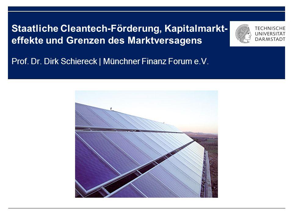 Prof. Dr. Dirk Schiereck | Münchner Finanz Forum e.V.