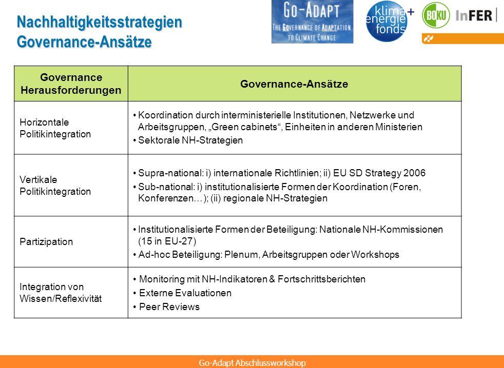 Governance Herausforderungen