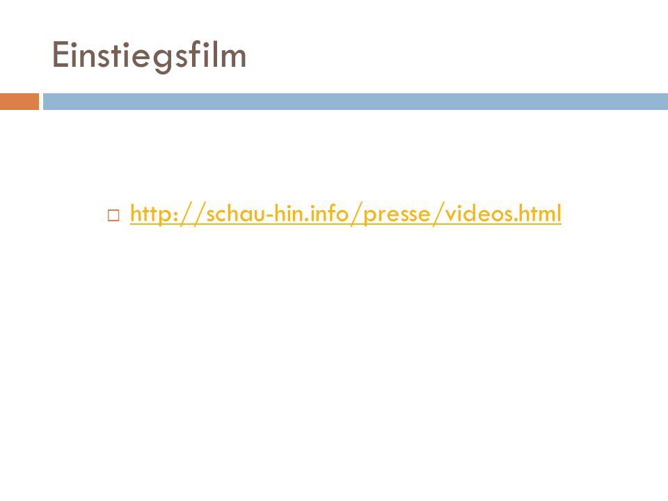 Einstiegsfilm http://schau-hin.info/presse/videos.html
