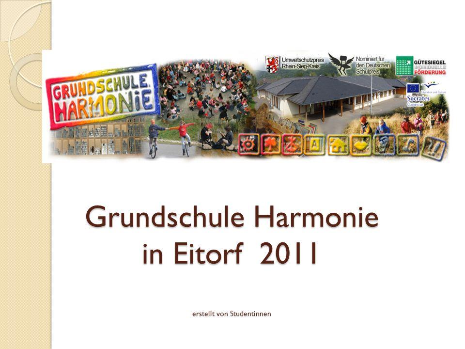 Grundschule Harmonie in Eitorf 2011 erstellt von Studentinnen