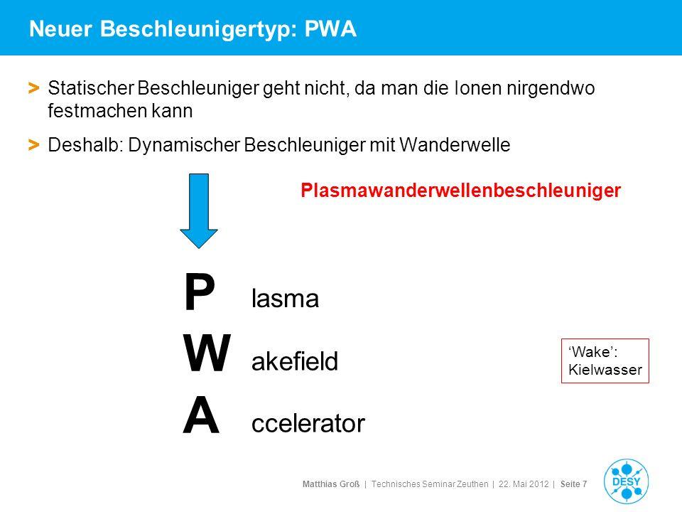 Neuer Beschleunigertyp: PWA