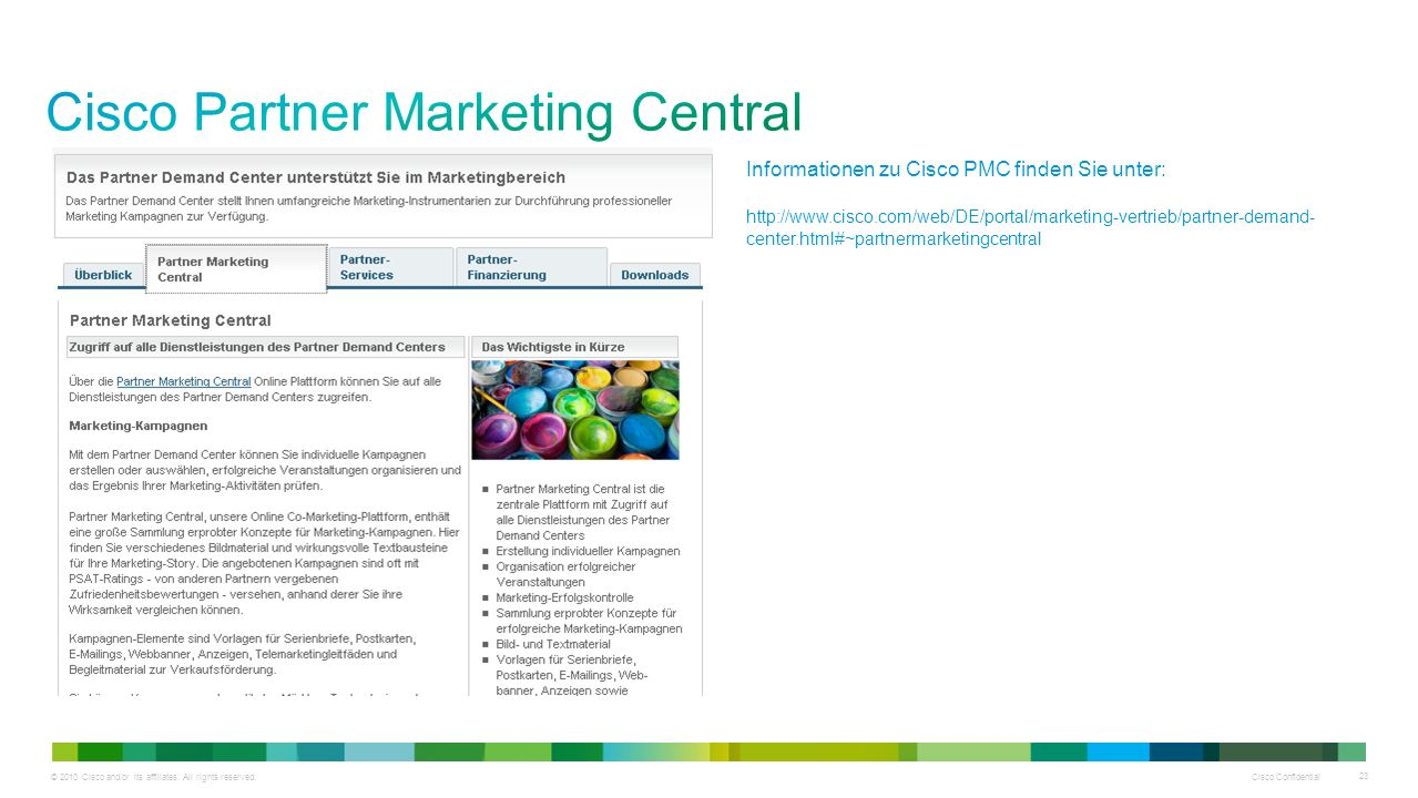 Cisco Partner Marketing Central